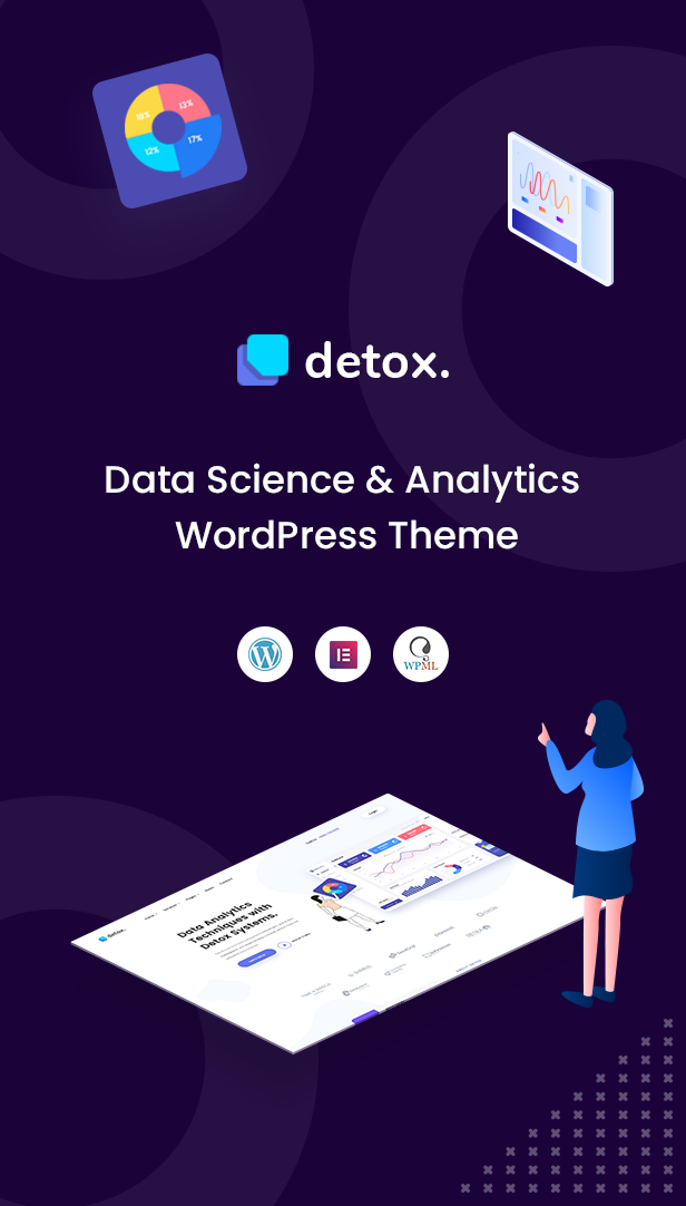 Detox - Data Science & Analytics WordPress Theme - 2